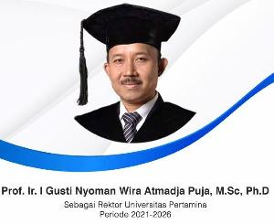Jadi Rektor Baru Universitas Pertamina, Prof Wirat Wujudkan Kampus Kelas Dunia
