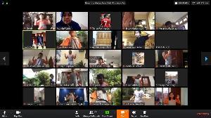 Serunya Olahraga Online Bareng  Sekolah Cikal