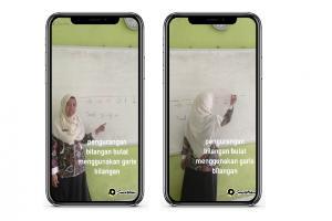 Cerita Noviantik tentang Pembelajaran Seru dengan Aplikasi Video Pendek