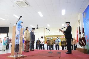 Lantik Wakil Rektor dan Kepala BPMPP Usahid Jakarta, Prof Nugroho: Berikan Terbaik, Bekerja Profesional