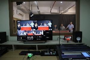 TV Prodi Ilmu Komunikasi Unika Atma Jaya Resmi Beroperasi