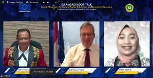 Undana Tuan Rumah EU Ambassador Talk, Bahas Pemulihan Pendidikan Tinggi & Ekonomi
