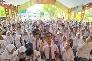 Ratusan Siswa Berprestasi Raih Beasiswa Masuk PT di Tengah Masa Pandemi