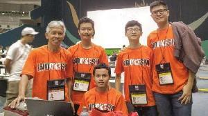 Pelajar Indonesia Toreh Prestasi di Olimpiade Informatika Internasional