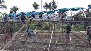 Peduli Kemanusiaan, Relawan Mapala NTT Bangun Sekolah Darurat SDN Maleipea Utara, Alor