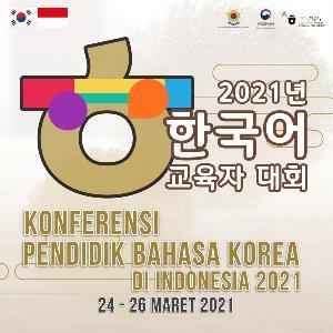 Kedubes Korea dan KCCI Gelar Konferensi Pendidik Bahasa Korea di Indonesia 2021