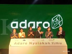 Peduli Pendidikan, Adaro Gelontorkan Rp1,1Triliun untuk CSR