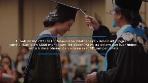 Sukses Kelola Hibah PKKM 1 Miliar, Universitas Kristen Maranatha Mendapat Pujian