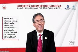 Rektor UGM Dikukuhkan sebagai Ketua Forum Rektor Indonesia 2021-2022