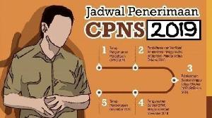 Ini Dia Jadwal Pendaftaran CPNS dan P3K 2019, Tahap Pertama Guru dan Dosen
