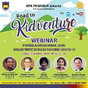 Peran Orangtua di Masa Emas Anak, Jadi Topik Webinar BPK PENABUR Jakarta