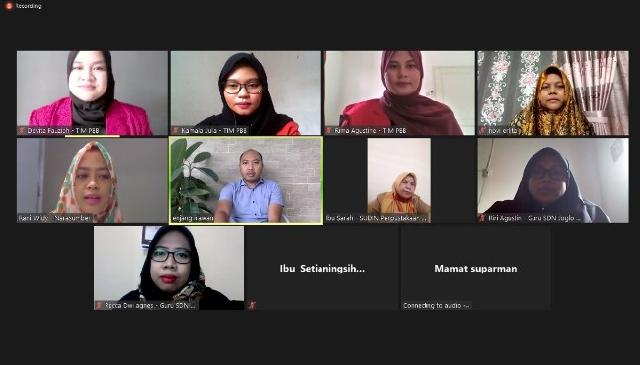 Tim PBB UMB Gelar Bimtek Pengelolaan Perpustakaan Secara Online