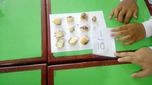 Donat Jadi Media Belajar Matematika yang Menyenangkan