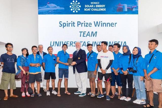 Mahasiswa FTUI Raih Penghargaan dalam Ajang Kapal Hemat Energi Tingkat Dunia
