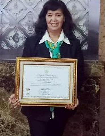 Sri Lestari Raih Predikat Kepala TK Berprestasi Tingkat Nasional
