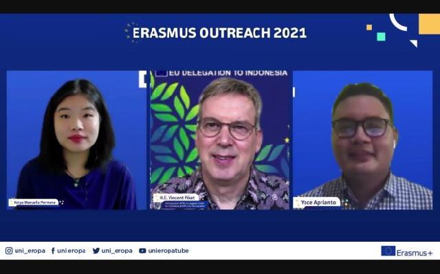 Begini Komentar Mahasiswa Penerima Beasiswa Erasmus