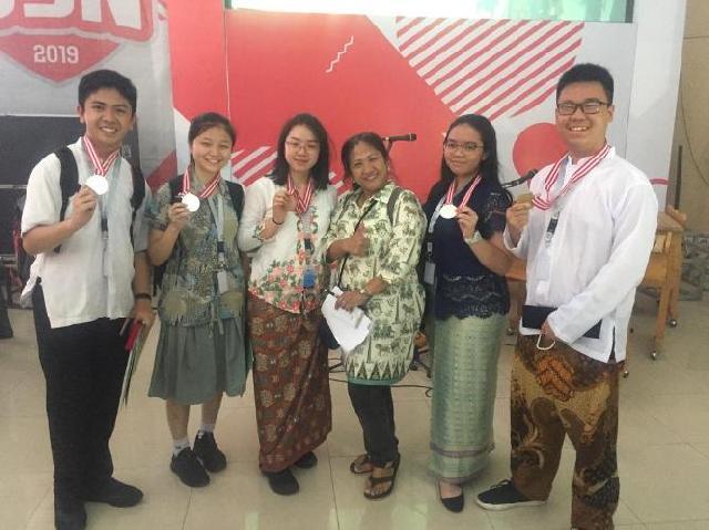 Pelajar BPK PENABUR ini, Berhasil Raih Emas di Laga OSN 2019 Tingkat SLTA