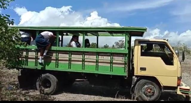 Kisah Pelajar dari Mapitara Naik Bus Kayu, Berjuang Ikut Simulasi ANBK di Kota