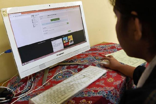 Blank Spot Masih Hantui Pelaksanaan Belajar Via Daring